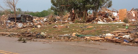 Harrowing images of Oklahoma destruction