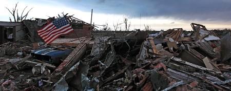 Mass devastation left in tornado's wake