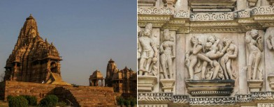 In the timeless temples of Khajuraho