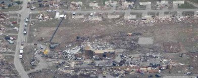 Tornado spanned length of 22 soccer fields