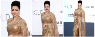 Aishwarya's golden gloom at Cannes