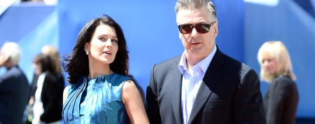 Alec Baldwin's major public display of affection