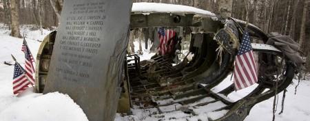 Survivor, rescuer reunite at site of B-52 crash