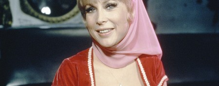 'I Dream of Jeannie' star slips back into costume