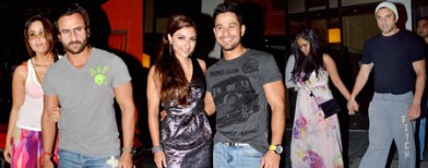 Catfight at Kunal Khemu's birthday bash