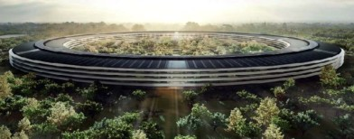 Splashy new offices of Apple, FB, Google
