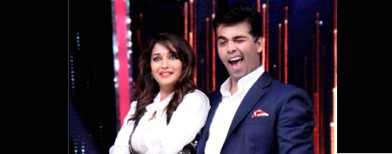 Madhuri and KJo groove together