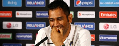 Dhoni dodges media again on spot-fixing