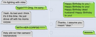 25 hilarious auto-correct disasters