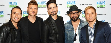 Backstreet Boys charmed by giant pandas