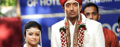 Ankit Chavan gets married