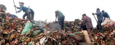 Delhi turning into a garbage dump