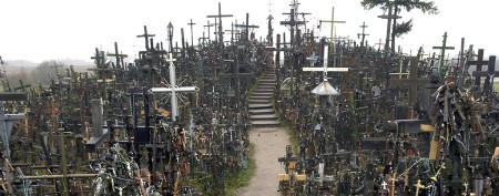 Legend behind Lithuania's Hill of Crosses
