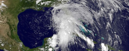 Tropical Storm Andrea bears down on Florida