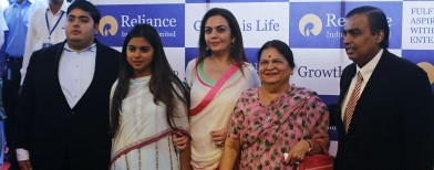 Photos: Ambani family on the move
