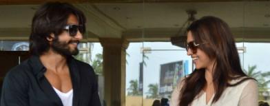 Ranveer and Deepika's romantic date