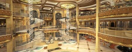 The new regal-looking Royal Princess cruise ship