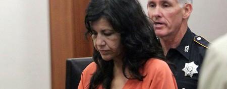 Woman charged in boyfriend's stiletto death