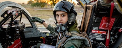 Pak's only war-ready female fighter pilot