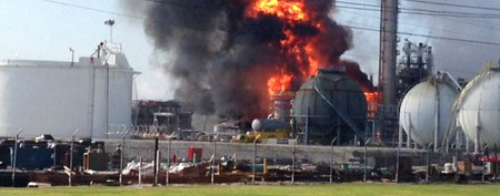 Deadly explosion at Louisiana chemical plant