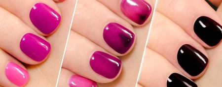 This nail polish changes color — while it's on