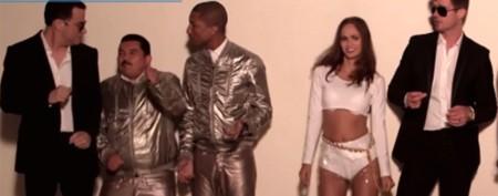 Awkward! Jimmy Kimmel parodies sexy video