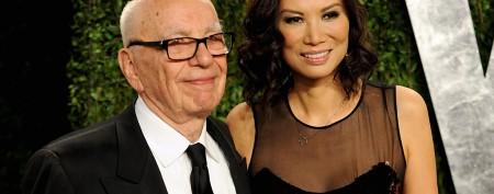 Who is billionaire Rupert Murdoch's wife?