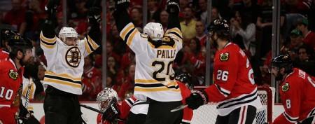 Boston gets a break, evens series