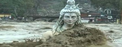 When Ganga brought Shiva down
