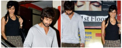 Spotted: Shahid and a new mystery lady