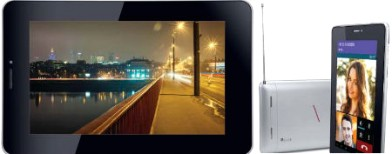 iBall tablet with dual SIM, FM and GPS