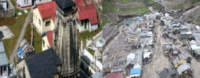 Just in : Aerial video of Kedarnath
