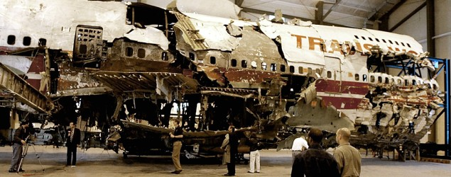 Investigators claim TWA crash story is a lie. (Getty Images)
