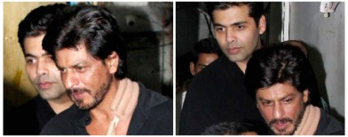 When SRK and Karan partied together