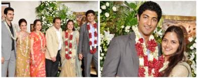 Ahana Deol's intimate engagement pics