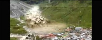 See how the Himalayan Tsunami happened