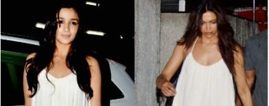 Alia and Deepika's copycat moment!
