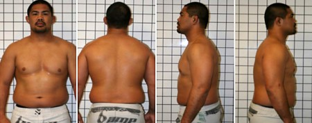 UFC fighter's extreme body makeover