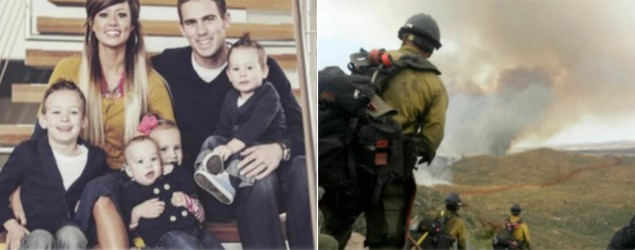 "Fallen Arizona firefighter Andrew Ashcraft and his family (NBC/""Today"" show/Ashcraft family)"