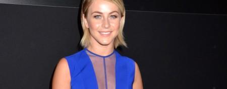 Julianne Hough's electric blue jump suit