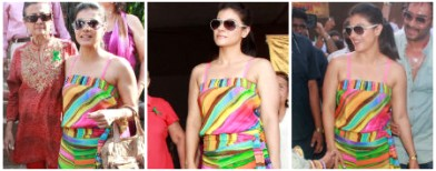 OMG! What is Kajol wearing here?