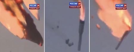 Russia loses $200M in spectacular crash