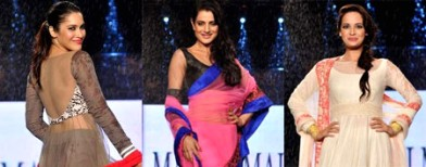 8 ways to wear sheer, by Manish Malhotra