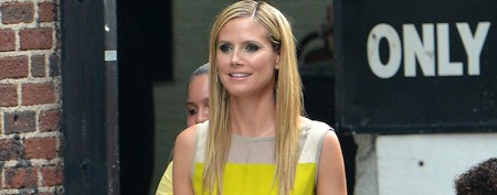Why is Heidi Klum wearing this dress?