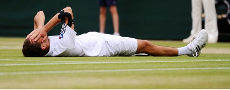 Moving show of sportsmanship at Wimbledon