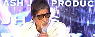 Why Big B got uncomfortable during a PC