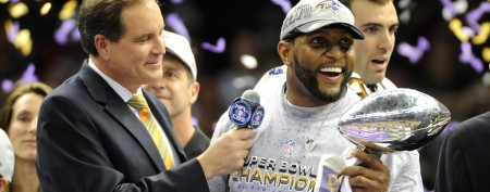 Ray Lewis mounts an epic retirement feat