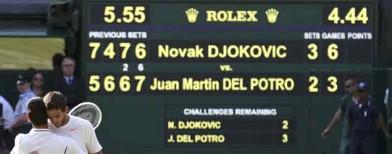 Longest semis in Wimbledon history