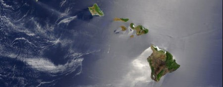 What lies under Hawaii?