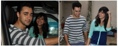 Anushka and Imran's cosy moments